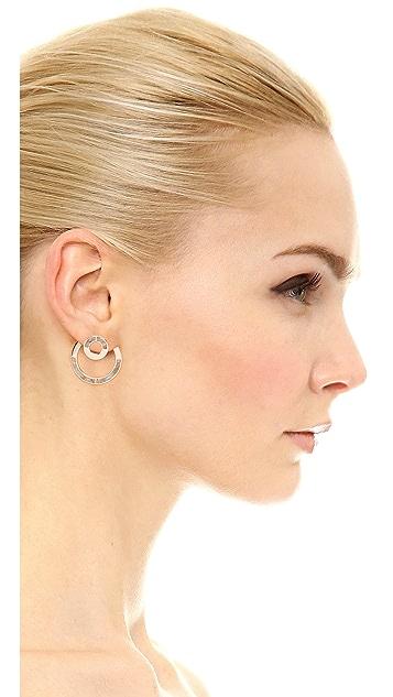 Pamela Love Quarter Earrings