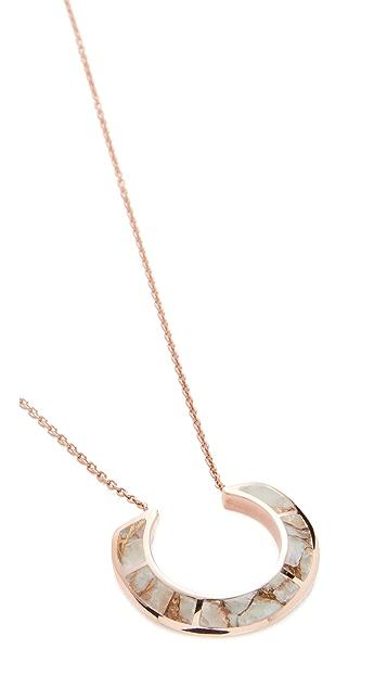 Pamela Love Enclosure Pendant Necklace