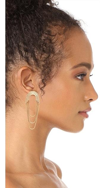 Pamela Love Large Iris Earrings