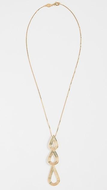 Pamela Love Phoebe Drop Pendant Necklace