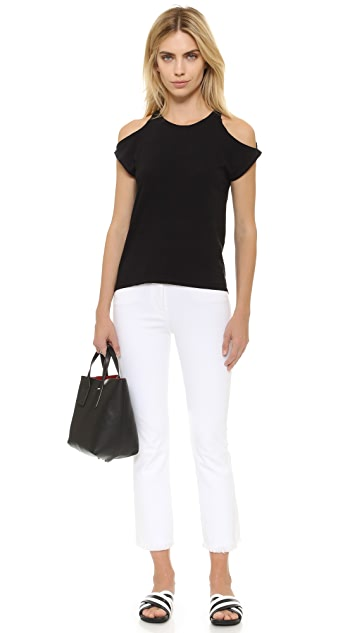 Pam & Gela Cold Shoulder Tee