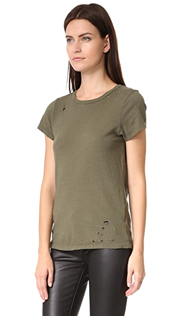 Pam & Gela Distressed Tee
