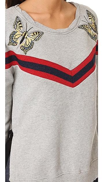 Pam & Gela Embroidered Sweatshirt