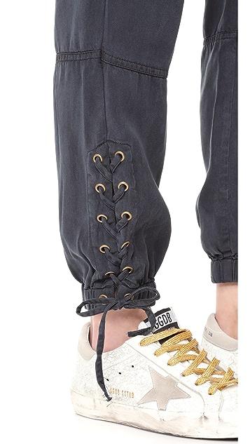 Pam & Gela Lace Up Pants
