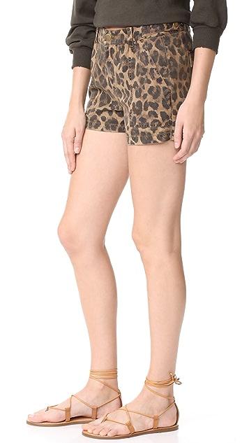 Pam & Gela Leopard Shorts