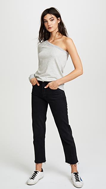 Pam & Gela One Sleeve Sweatshirt