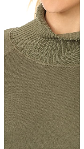 Pam & Gela Fleece Turtleneck