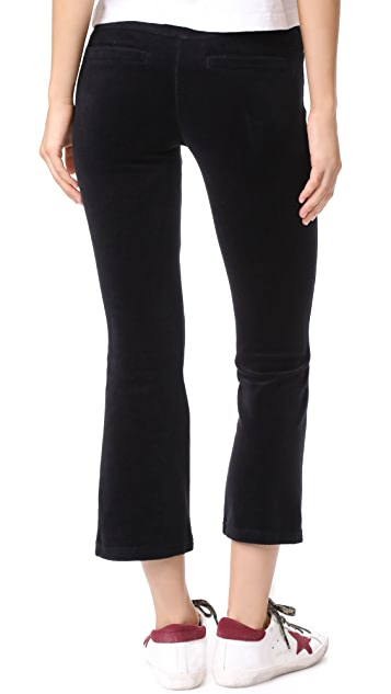 Pam & Gela Slim Flare Crop Pants