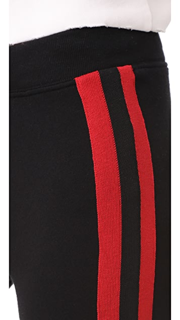 Pam & Gela Sport Stripe Basic Sweatpants