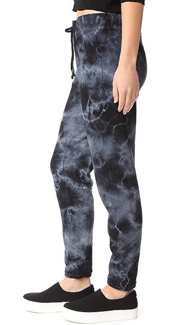 Pam & Gela Tea Stain Tie Dye Sweatpants