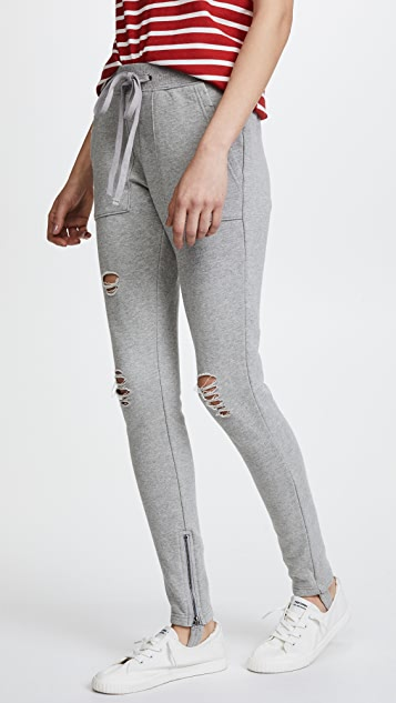 Pam & Gela Stirrup Sweatpants - Heather Grey