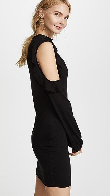 Pam & Gela Cold Shoulder Choker Dress