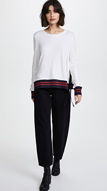 Pam & Gela Side Slit Sweatshirt