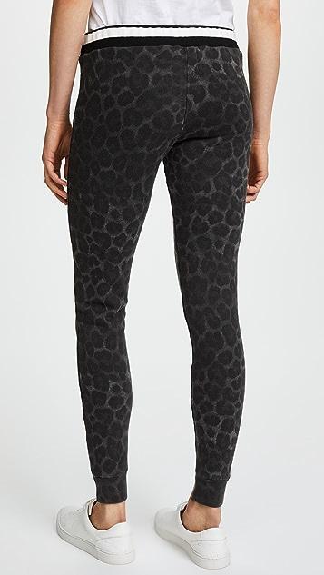 Pam & Gela Printed Cuff Pants