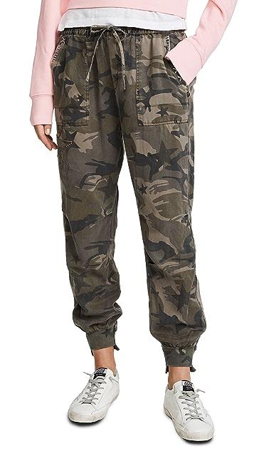Pam & Gela Offset Cuff Pants