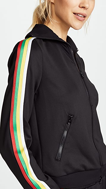 Pam & Gela Track Jacket with Stripes