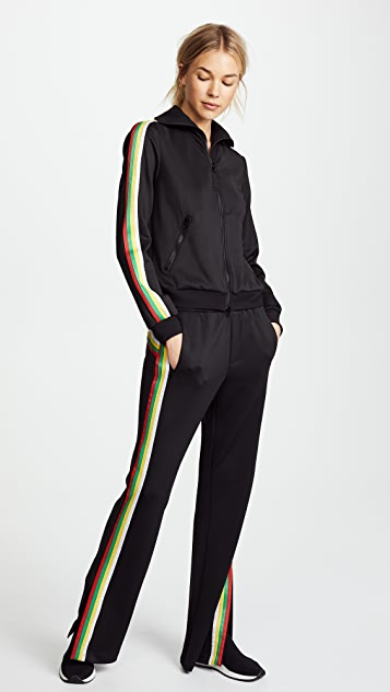 Pam & Gela Trouser with Rainbow Stripes