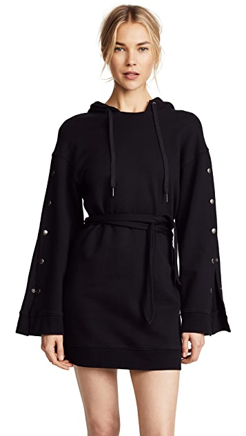 Pam & Gela Hooded Dress
