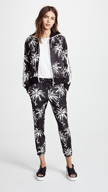Pam & Gela Palm Tree Track Jacket