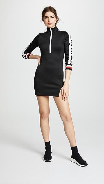 Pam & Gela Dress With Sports Stripe
