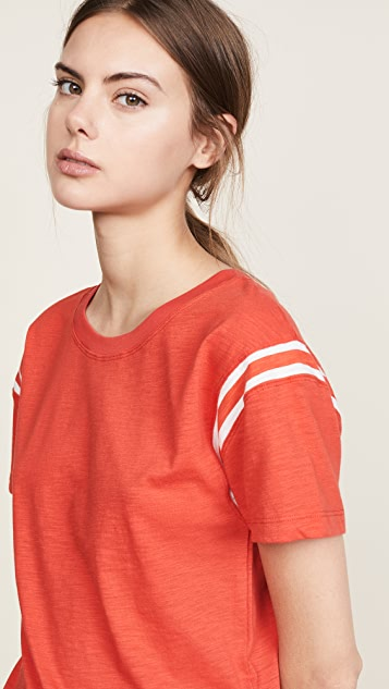 Pam & Gela Football Tee