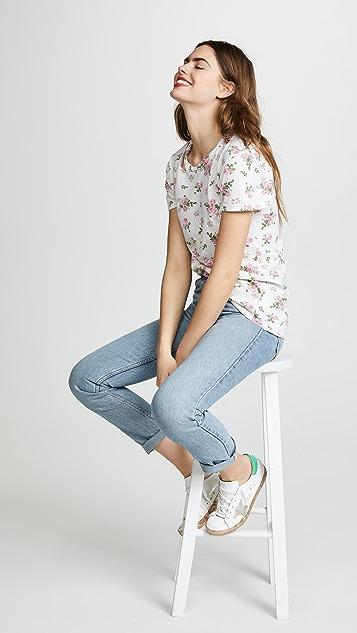 Pam & Gela Floral Print Tee