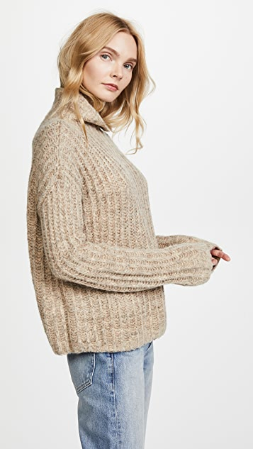 Pam & Gela Funnel Neck Sweater