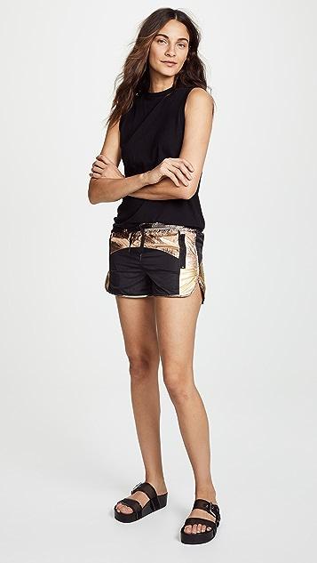 Pam & Gela Colorblock Shorts