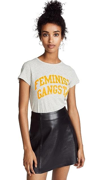 Pam & Gela Feminist Gangsta Tee