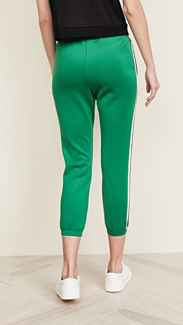 Pam & Gela Pintuck Crop Track Pants