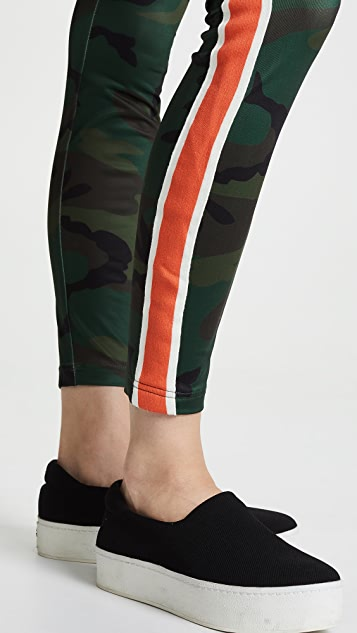 Pam & Gela Camo High Rise Leggings