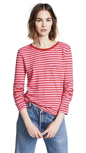 Pam & Gela Long Sleeve Pocket Tee