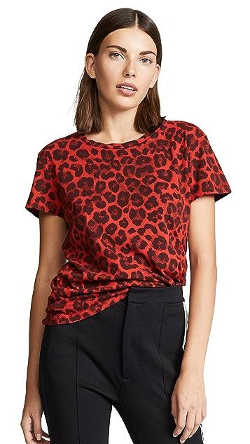Pam & Gela 豹纹圆领 T 恤