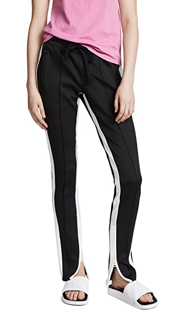 Pam & Gela Low Rise Cigarette Sweatpants