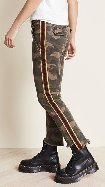 Pam & Gela Camo Side Stripe Pants