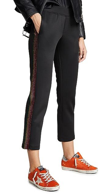 Pam & Gela Укороченные спортивные брюки с радужными камнями