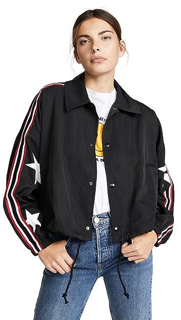 Pam & Gela Star Drawstring Jacket
