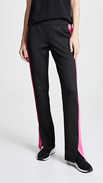 Pam & Gela Track Pants with Pink Stripe
