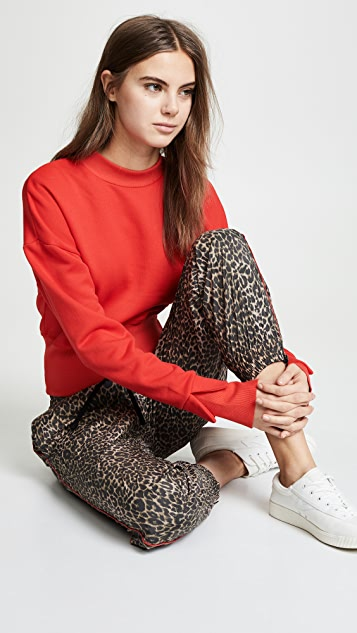 Pam & Gela Track Pants with Red Piping