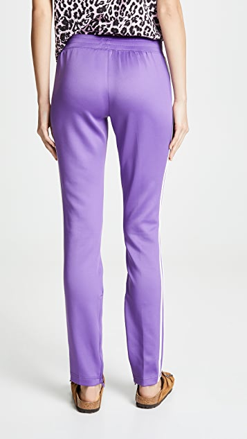 Pam & Gela Cigarette Pants with Double Stripes