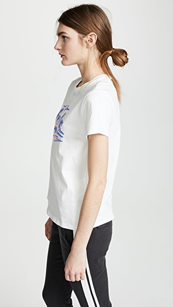 Pam & Gela Feels Good Basic Logo Tee