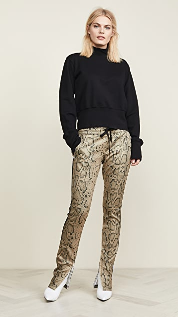 Pam & Gela Snake Cigarette Pants