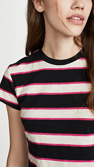 Pam & Gela Укороченная футболка в полоску