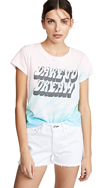 Pam & Gela Dare to Dream Logo Tie Dye Tee