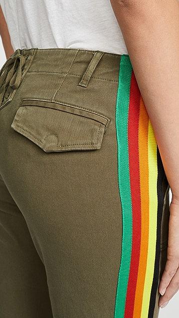Pam & Gela Брюки в радужную полоску по бокам
