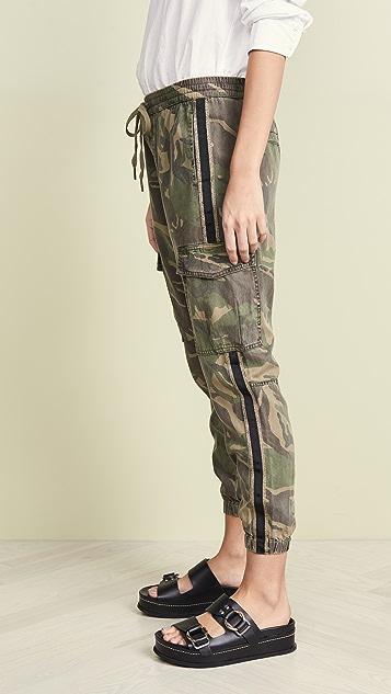 Pam & Gela Брюки-карго с полосками по бокам