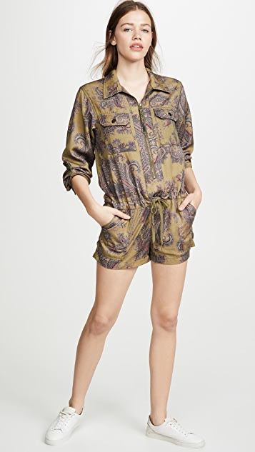 Pam & Gela Patch Pocket Romper