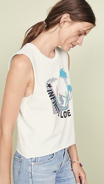 Pam & Gela Surf Cali Logo Muscle Tee