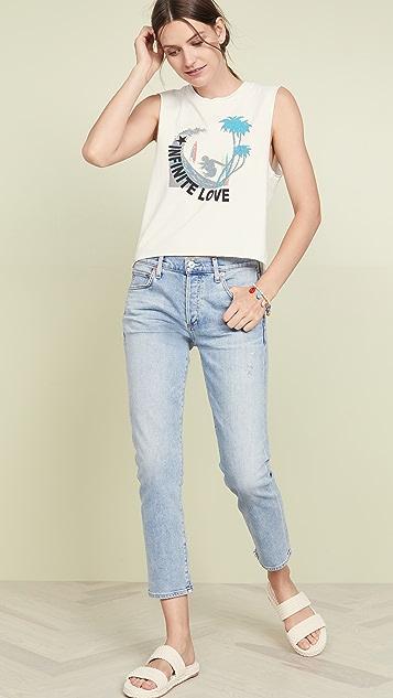 Pam & Gela Футболка без рукавов Surf Cali с логотипом