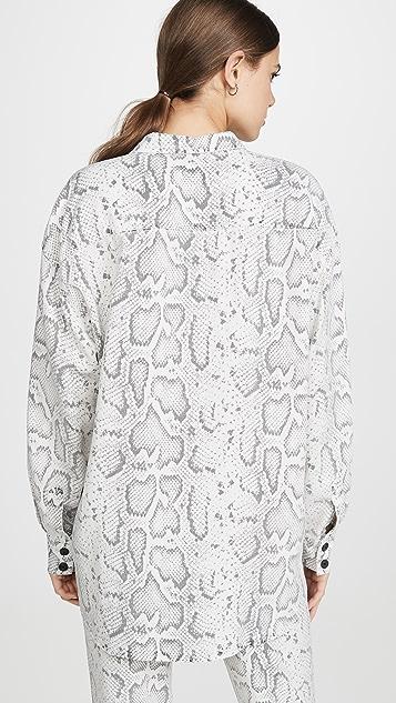 Pam & Gela Snake Print Shirt